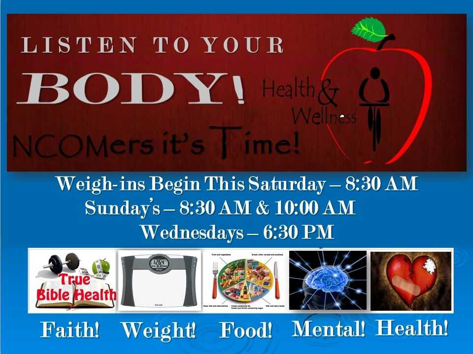 Listen to Your Body - Weigh Ins