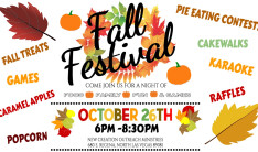 Fall Harvest Festival - Oct 26 2018 6:00 PM