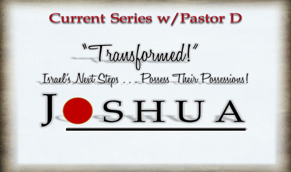 JOSHUA- Transformed! Israel