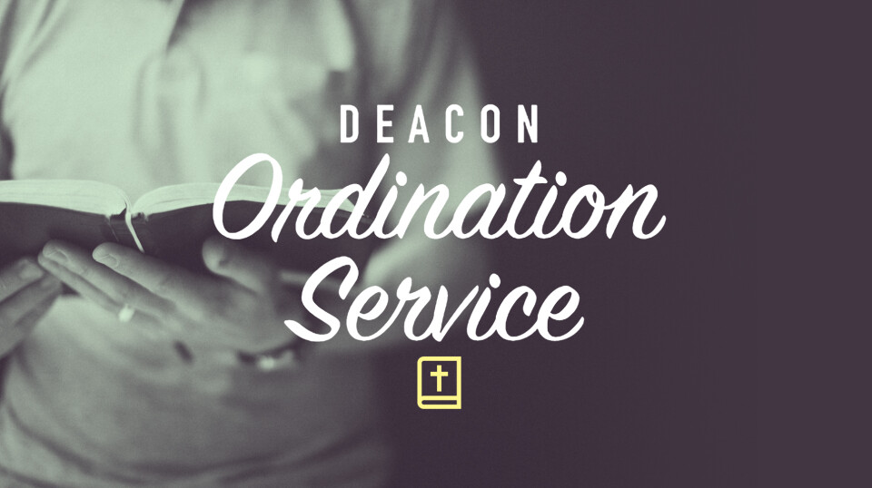 2019 Deacon Ordination Service