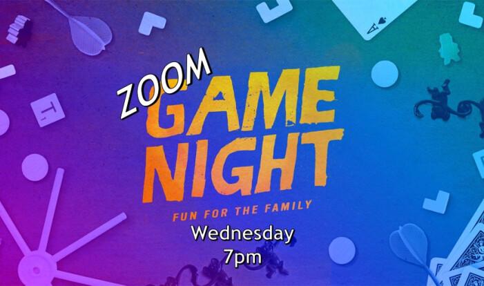 NCOM Fellowship - ZOOM Game Night